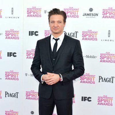 Jeremy Renner en los Independent Spirit Awards 2013