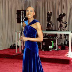 Robin Roberts en la alfombra roja de los Oscar 2013