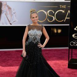 Kristin Chenoweth en la alfombra roja de los Oscar 2013