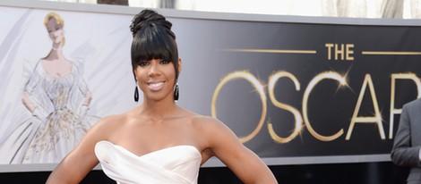 Kelly Rowland en la alfombra roja de los Oscar 2013