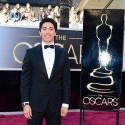 Yan England en la alfombra roja de los Oscar 2013