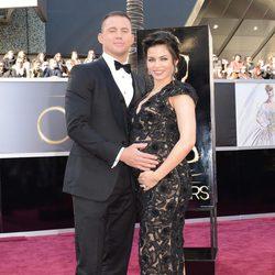Channing Tatum y Jenna Dewan en los Oscar 2013