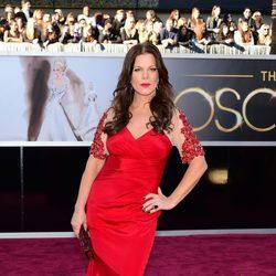 Marcia Gay Harden en los Oscars 2013