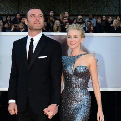 Liev Schreiber y Naomi Watts en los Oscar 2013