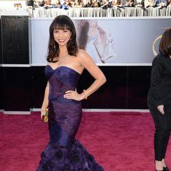 Gloria Reuben en la alfombra roja de los Oscar 2013