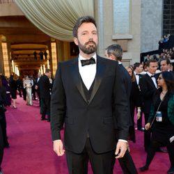 Ben Affleck en la alfombra roja de los Oscar 2013