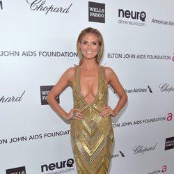 Heidi Klum en la fiesta celebrada post Oscar 2013 celebrada por Elton John