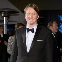 Tom Hooper en la fiesta Governors Ball tras los Oscar 2013