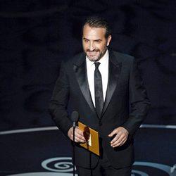 Jean Dujardin en la gala de los Oscar 2013