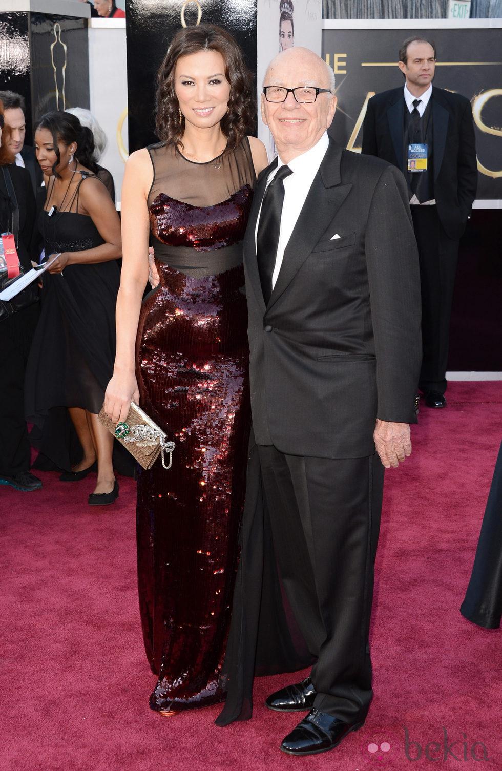 Rupert Murdoch en los Oscar 2013