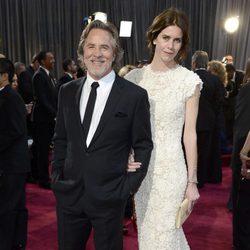 Don Johnson y Kelley Phleger en los Oscar 2013