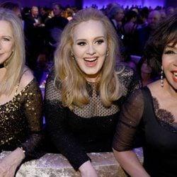 Barbra Streisand, Adele y Shirley Bassey en la fiesta Governors Ball tras los Oscar 2013