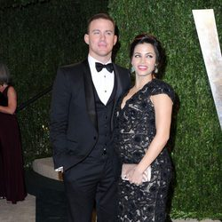 Channing Tatum y Jenna Dewan en la fiesta post Oscar 2013 organizada por Vanity Fair