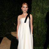 Natalie Portman en la fiesta post Oscar 2013 organizada por Vanity Fair