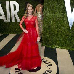 Hilary Swank en la fiesta post Oscar 2013 organizada por Vanity Fair