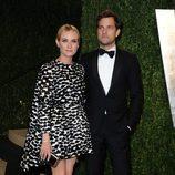 Diane Kruger y Joshua Jackson en la fiesta post Oscar 2013 organizada por Vanity Fair