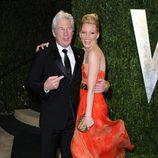 Richard Gere y Elizabeth Banks en la fiesta post Oscar 2013 organizada por Vanity Fair