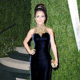 Salma Hayek en la fiesta post Oscar 2013 organizada por Vanity Fair