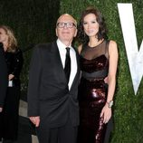 Rupert y Wendi Murdoch en la fiesta post Oscar 2013 organizada por Vanity Fair