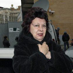 La actriz María Asquerino
