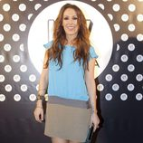 Malú en un evento organizado por UV Vodka