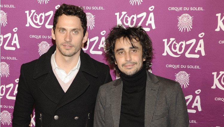 Paco León y Canco Rodríguez en el estreno de 'Kooza'