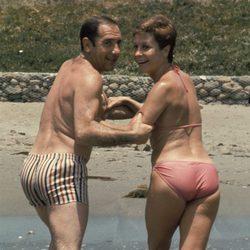 Alfredo Landa y Lina Morgan