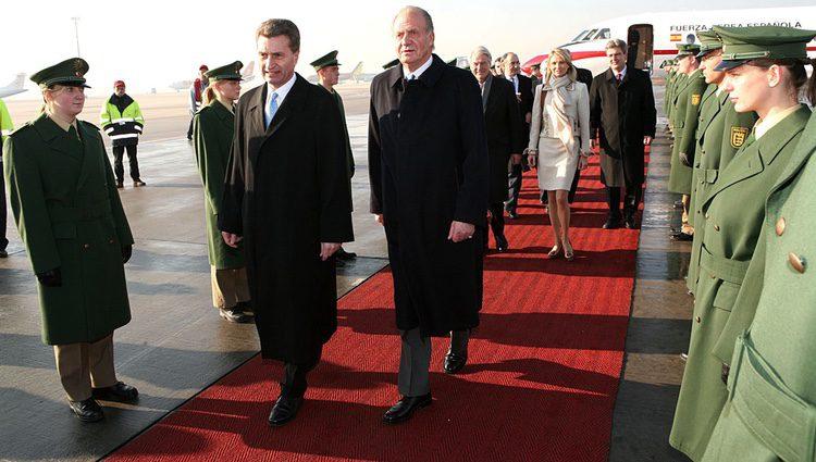 El Rey Juan Carlos y Corinna zu Sayn-Wittgenstein en Alemania