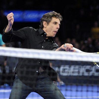 Ben Stiller compañero de Rafa Nadal en el Madison Square Garden