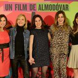 Laya Marti, Cecilia Roth, Lola Dueñas, Pepa Charro y Blanca Suárez presentan 'Los amantes pasajeros' en Madrid