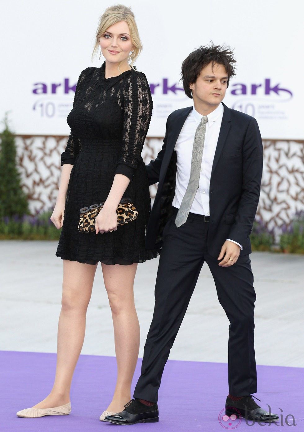 Jamie Cullum y Sophie Dahl