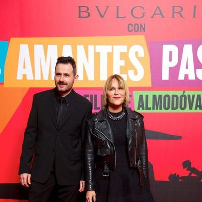 Luis Miguel Seguí y Antonia San Juan en el estreno de 'Los amantes pasajeros'