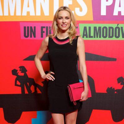Kira Miró en el estreno de 'Los amantes pasajeros'