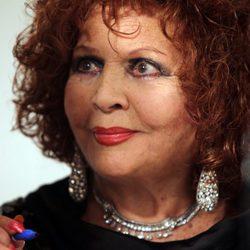 Sara Montiel durante un homenaje a su carrera