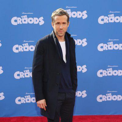 Ryan Reynolds en el estreno de 'Los Croods' en Nueva York