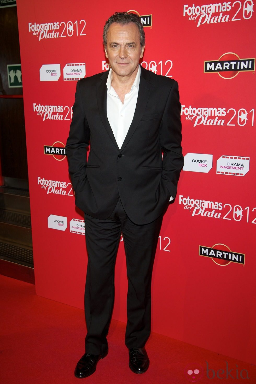 José Coronado en los premios Fotogramas de plata 2012