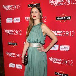 Katia Klein en los premios Fotogramas de Plata 2012