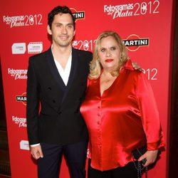 Carmina Barrios y Paco León en los premios Fotogramas de Plata 2012