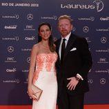 Boris y Lily Becker en los Premios Laureus 2013