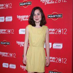 Nadia de Santiago en los premios Fotogramas de Plata 2012