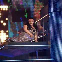 Falete vestido de sirenita en el segundo programa de 'Splash!, Famosos al agua'