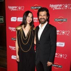 Rodolfo Sancho y Xenia Tostado en los premios Fotogramas de Plata 2012