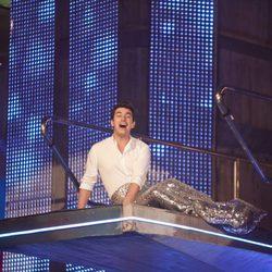 Arturo Valls vestido de sirenita en la segunda gala de 'Splash!, famosos al agua'