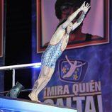 Fortu saltando desde la plataforma de tres metros en '¡Mira quién salta!'