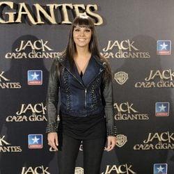 Cristina Pedroche en el estreno de 'Jack el caza gigantes'