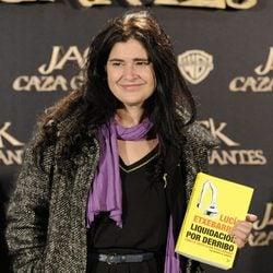 Lucía Etxebarria en el estreno de 'Jack el caza gigantes'