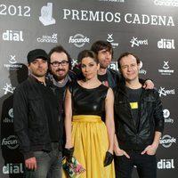 La Oreja de Van Gogh en los premios Cadena Dial 2012
