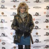 Lydia Lozano en una fiesta tras el estreno de '¡Mira quién salta!'