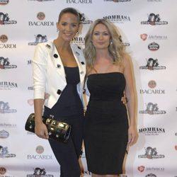 Tamara Gorro y Olvido Hormigos en una fiesta tras el estreno de '¡Mira quién salta!'