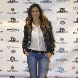 Verónica Hidalgo en una fiesta tras el estreno de '¡Mira quién salta!'
